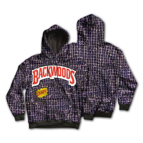KannaBling - Backwoods Hoodie Grape Sweatshirt