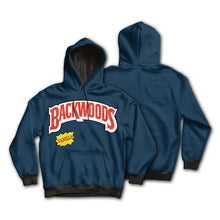 Load image into Gallery viewer, KannaBling - Backwoods Hoodie Vanilla Blue Sweatshirt