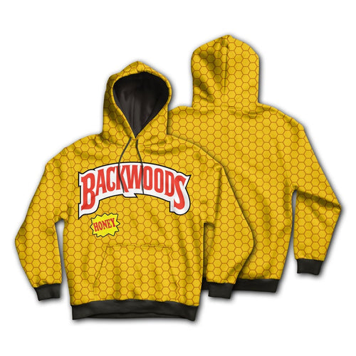 KannaBling - Backwoods Hoodie Honey Yellow Sweatshirt