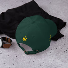 Load image into Gallery viewer, KannaBling - Ball Cap Cannabis Leaf of Gold