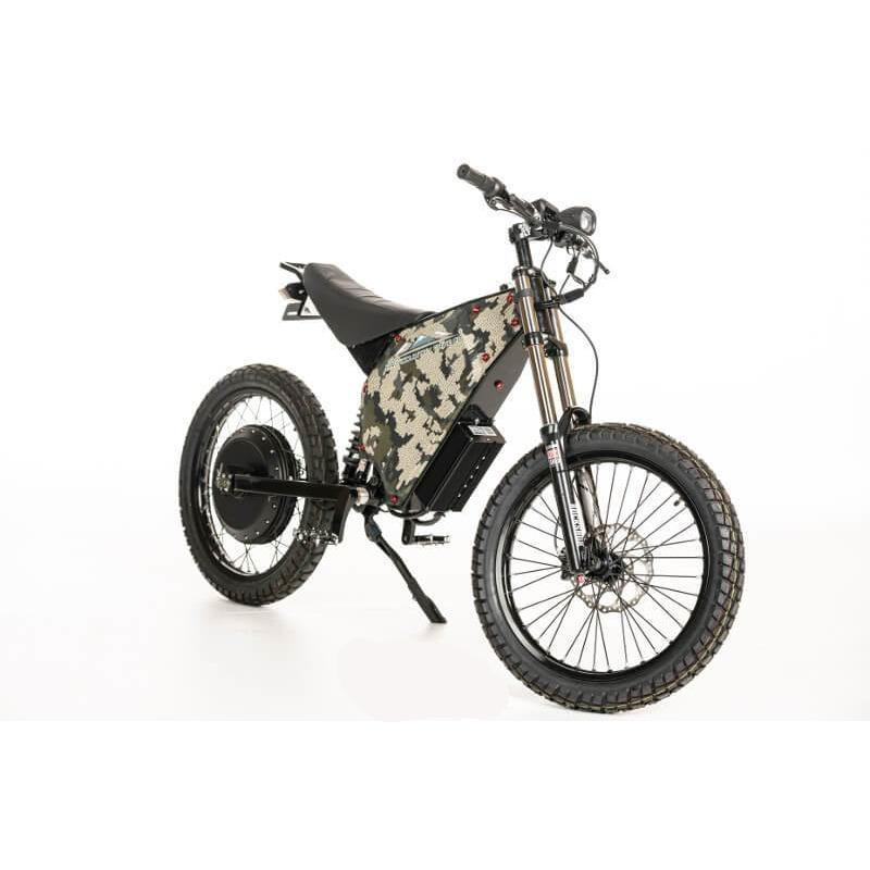 84940aee487 BackCountry eBikes PUMA-Fat Tire 72V 5000W-8000W Electric Hunting Bike – In  Motion eBikes