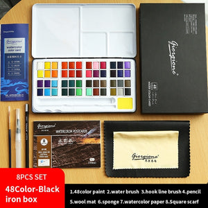 Giorgione 18/24/36/48 Water Color Paint Set