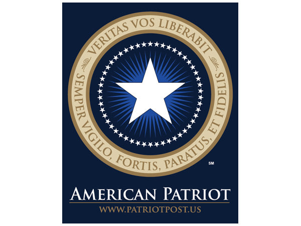 American Patriot sticker -logo