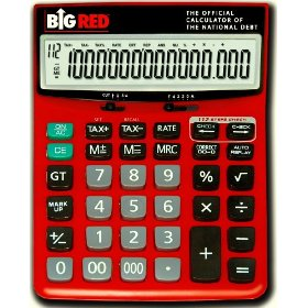 Big Red Calculator, Official Calculator of the National Debt