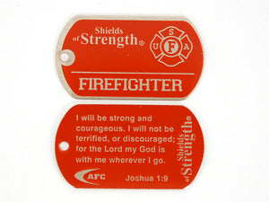 Firefighter Shield- Joshua