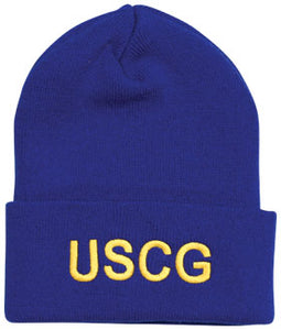 Coast Guard knit cap