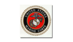 Marine decal