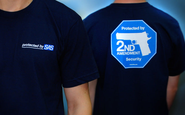 Second Amendment Security- Navy Blue T-shirt