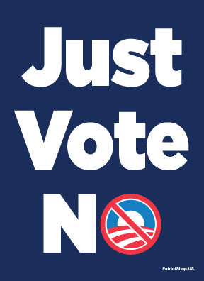 Just Vote NO! sticker