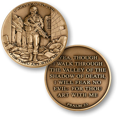 Psalm 23 Bronze Coin