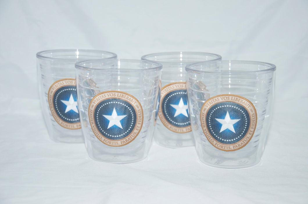 Patriot Seal Tervis - 12 oz. set of 4
