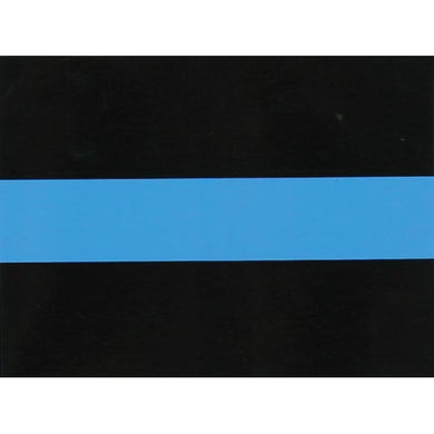Thin Blue Line sticker - small
