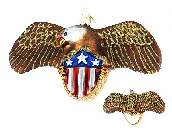 Eagle with Shield ornament