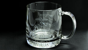 Overstock Sale - Marine glass mug