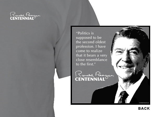 Reagan t-shirt - gray