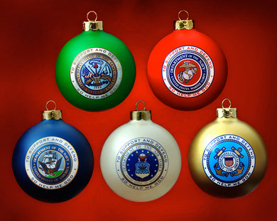 Patriot Exclusive Military Ornament set