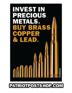 Buy Precious Metals sticker