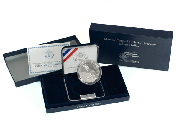 2005 Marine Corps Dollar Proof