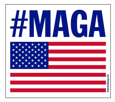 MAGA Flag sticker