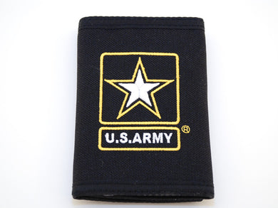 Army Star canvas wallet