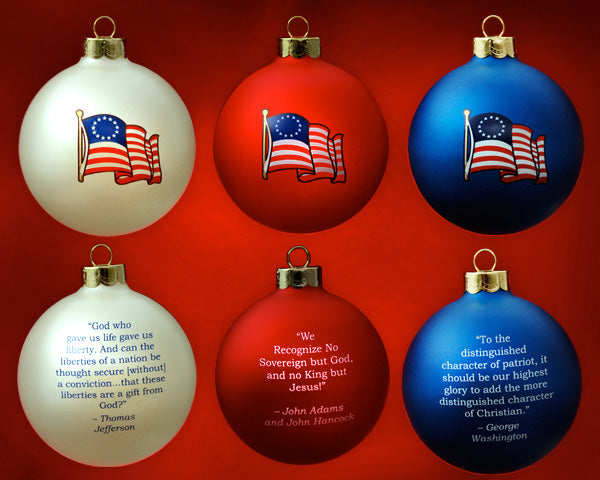 Patriot Exclusive Founder's Ornament Set
