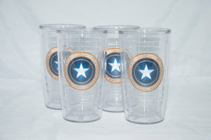 Patriot Seal Tervis - 16 oz. set of 4