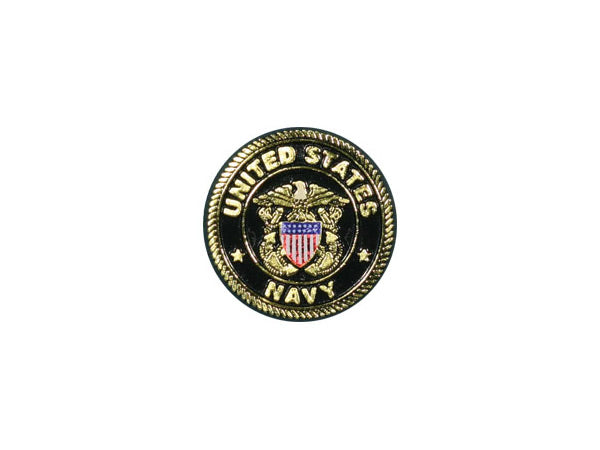Navy circle magnet