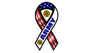 Army ribbon magnet