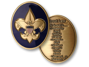 Scout Law coin