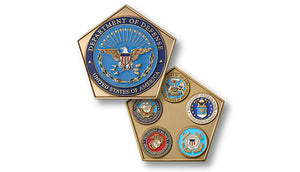 Department of Defense coin