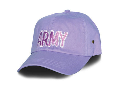 Army hat - lavender