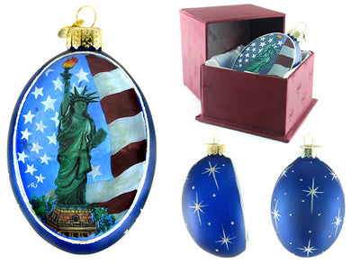 Statue of Liberty ornament - boxed