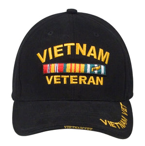 Vietnam Veteran hat - black