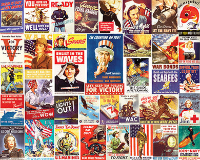 Vintage World War II Posters puzzle