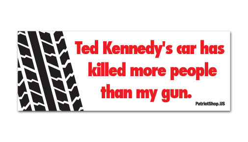 Kennedy's car sticker