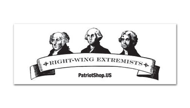 Right Wing Extremists sticker