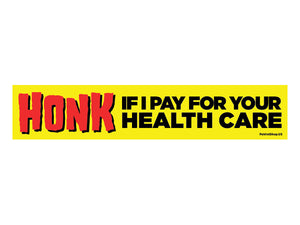 Honk Healthcare sticker