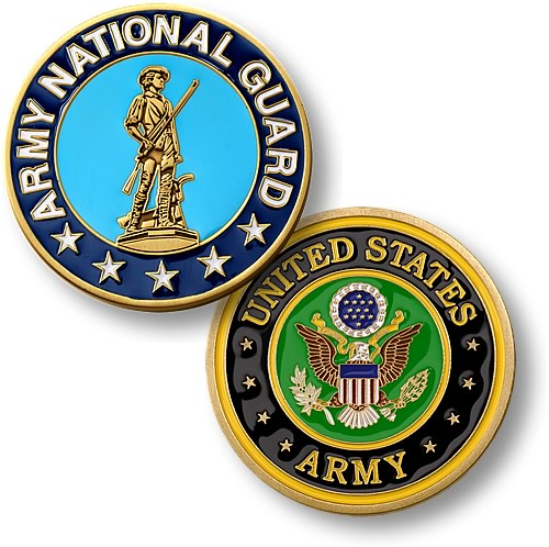 Army National Guard commemorative coin