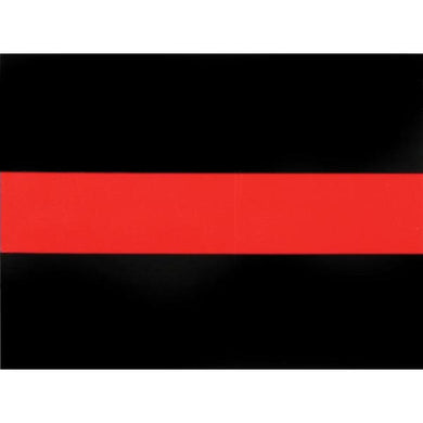 Thin Red Line sticker