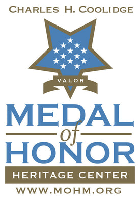 Medal of Honor Heritage Center sticker