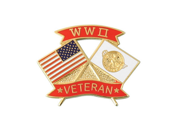 World War II Veteran lapel pin