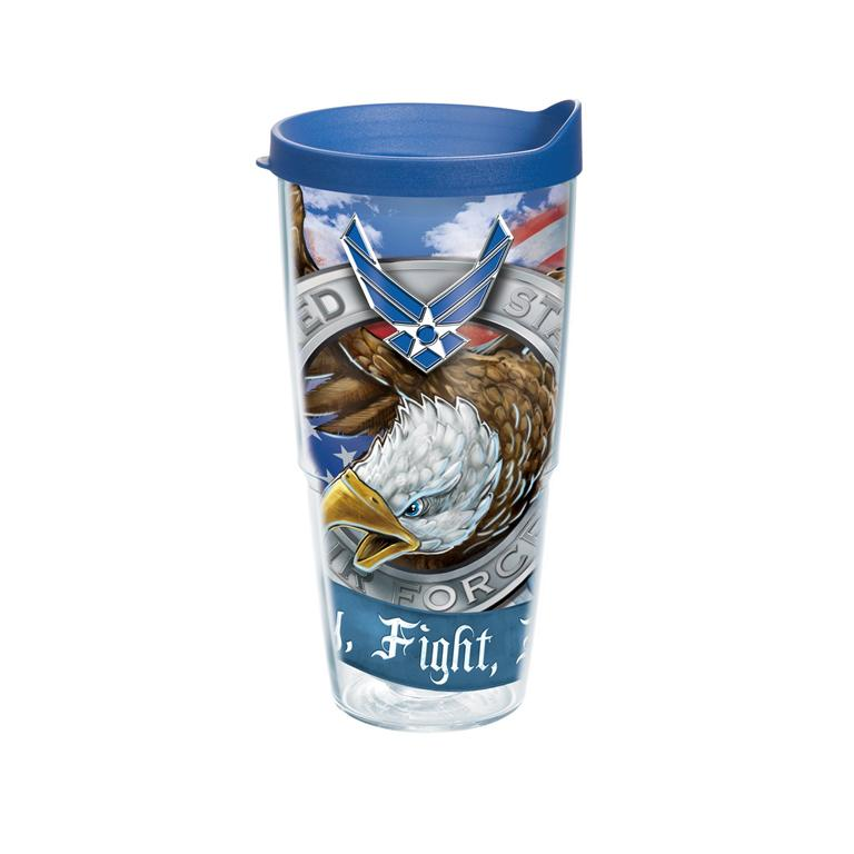 Air Force Wrap Tervis - 24 oz.