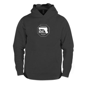 Second Amendment hooded sweatshirt - Dark Heather