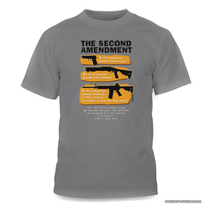 Second Amendment By The Numbers shirt