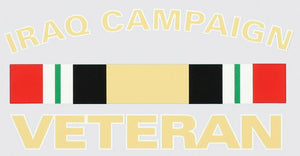 Iraq Campaign Veteran decal