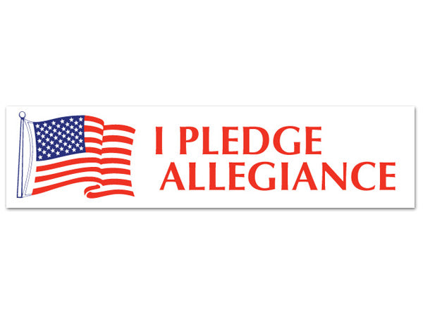 I Pledge Allegiance sticker