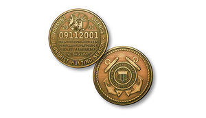 "Coast Guard ""Hunting"" license coin"