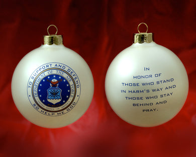 Patriot Exclusive Air Force Ornament