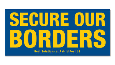 Secure Our Borders sticker