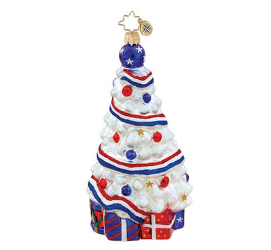 Radko Stars and Stripes Forever ornament